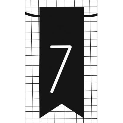 8.klein kaartje met cijfer 7