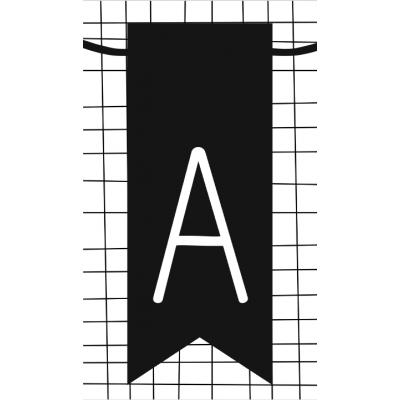 11.klein kaartje met letter A