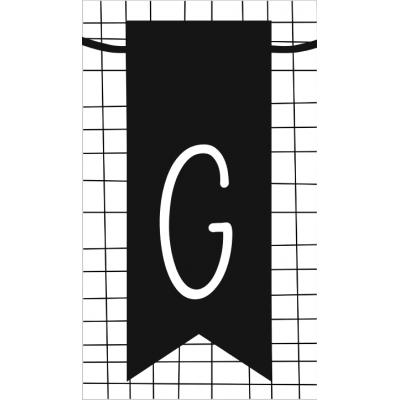 17.klein kaartje met letter G