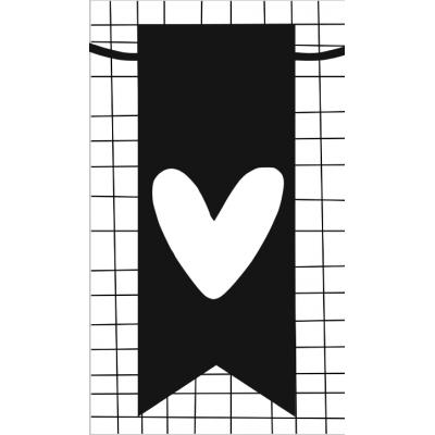 38.klein kaartje met afbeelding hartje