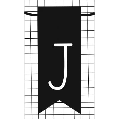 20.klein kaartje met letter J