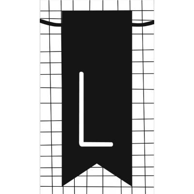 22.klein kaartje met letter L