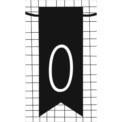 25.klein kaartje met letter O