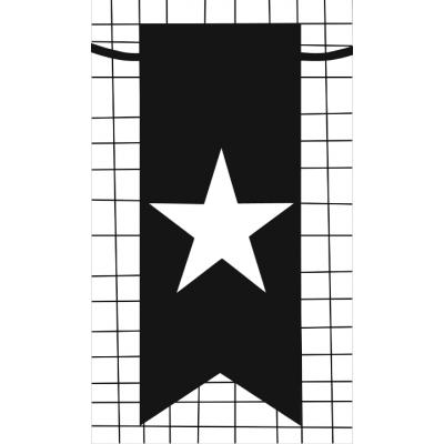 39.klein kaartje met afbeelding ster