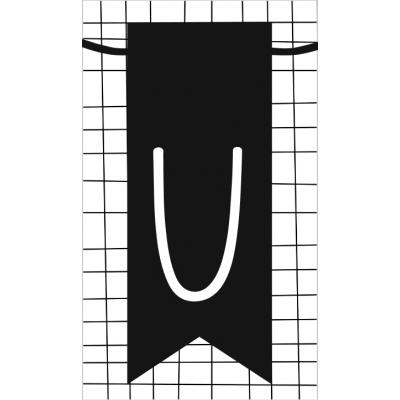 31.klein kaartje met letter U