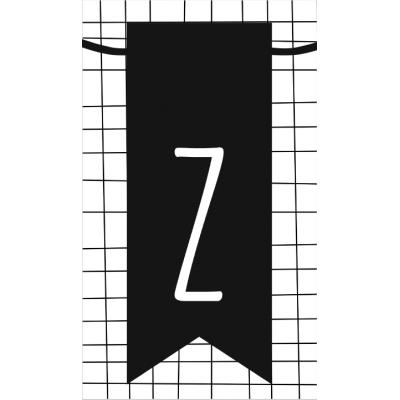 36.klein kaartje met letter Z